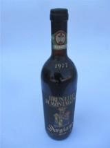 bottiglia di Brunello di Montalcino