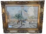 Quadro dipinto ad olio firmato Sarti