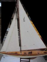 Modellino di  veliero in legno