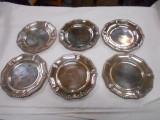 Piattini argento x 6