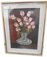 quadro su tavoletta 50 x 70 firmato cp 59