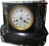 orologio da camino in marmo