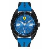 Orologio Analogico Scuderia Ferrari In Acciaio, Silicone
